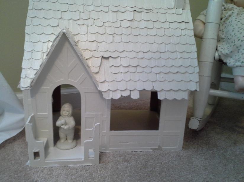 Dollhouse I built for Sarah years ago
